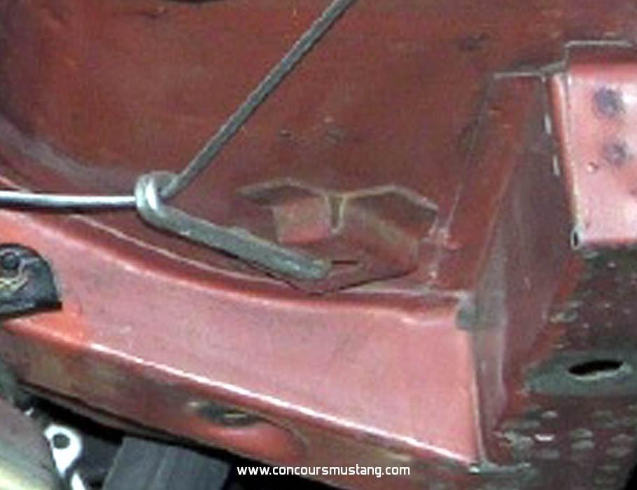 Mustang Hook Idler Parking Brake 1967-1973